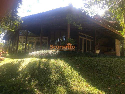 Chácara Com 4 Dorms, Potuverá, Itapecerica Da Serra - R$ 1.6 Mi, Cod: 4003 - V4003