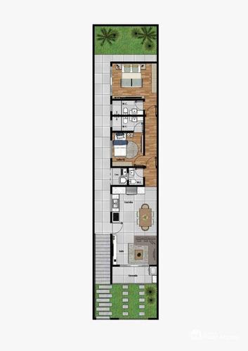 Imagem 1 de 6 de Casa Com 2 Dormitórios À Venda, 109 M² Por R$ 380.000,00 - Jardim Dos Manacas - Poços De Caldas/mg - Ca1450