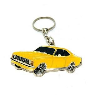 Chaveiro Opala 02 Portas (coupe) Amarelo 75/79