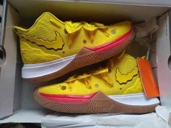 Tênis Nike Kyrie 5 Bob Esponja Pronta Entrega Com N/f