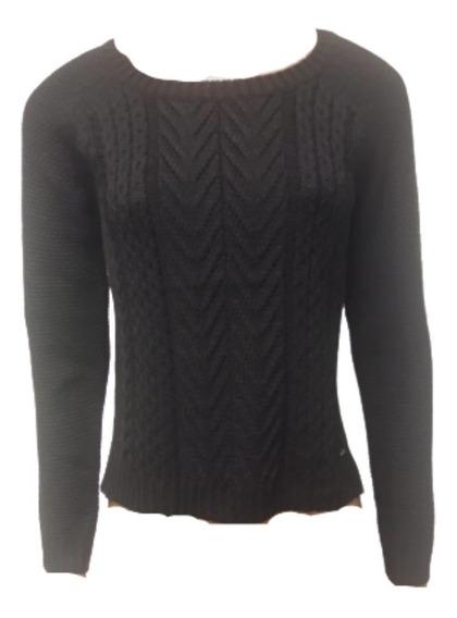 Sweater Scombro Mod: Aran Espigas Corto Cod: 2093
