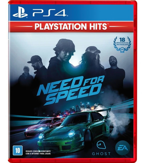 Need For Speed 2015 - Ps4 Midia Fisica Leg Em Português