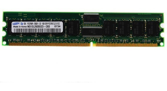 Samsung Pc2700r-2531-c3 1gb Ddr Pc2700 Cl5 Ecc M312l2920dz3