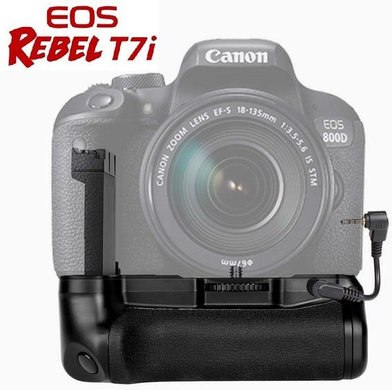 Camera Grip T7i 800d 77d Rebel X9i Dslr Novo!