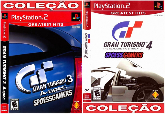 Gran Turismo 3 E 4 ( Corrida ) Ps2 Desbloqueado Patch