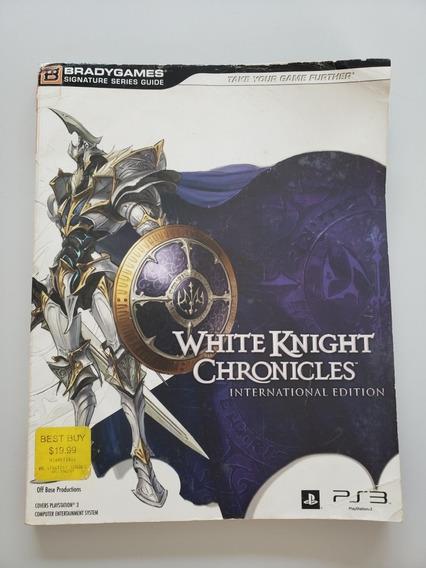 Guia De Jogo White Knight Chronicles Original Bradgames