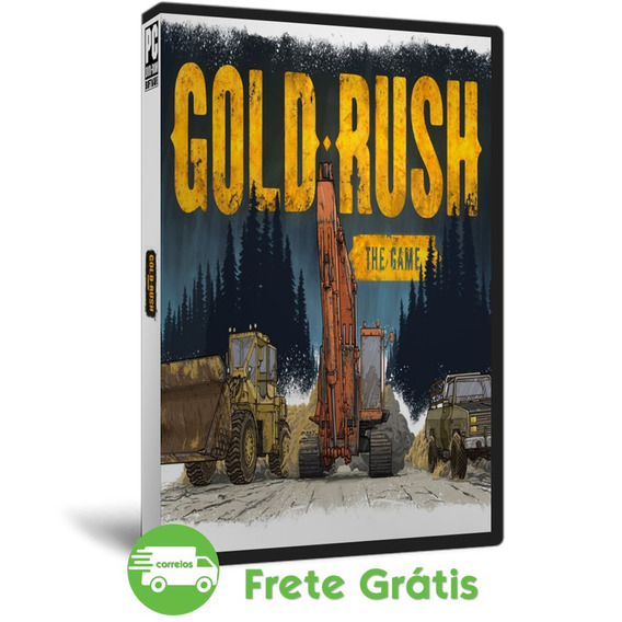 Gold Rush Pc The Game Simulador Mineração Ouro Mídia Dvd