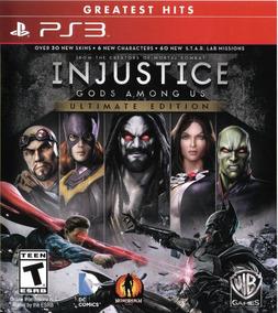 Injustice Gods Among Us Ultimate Edition ! Mídia Digital Ps3