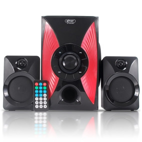 Home Theater Bluetooth 2.1 Pc Note Micro System Caixa Som