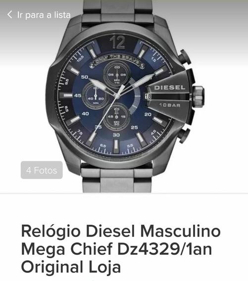 Relogio Original Da Diesel