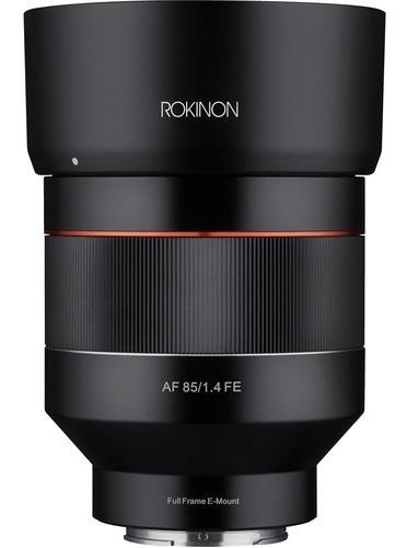 Lente Rokinon Af 85mm F/1.4 Para Sony E-mount C/ Recibo