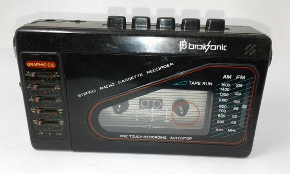 Radio Am Fm Walkman Broksonic Usado (func. Somente Rádio)