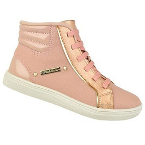 Tenis Cano Alto Pink Cats W9601