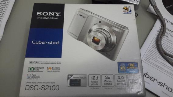 Câmera Sony Ciber-shot Dsc-s2100