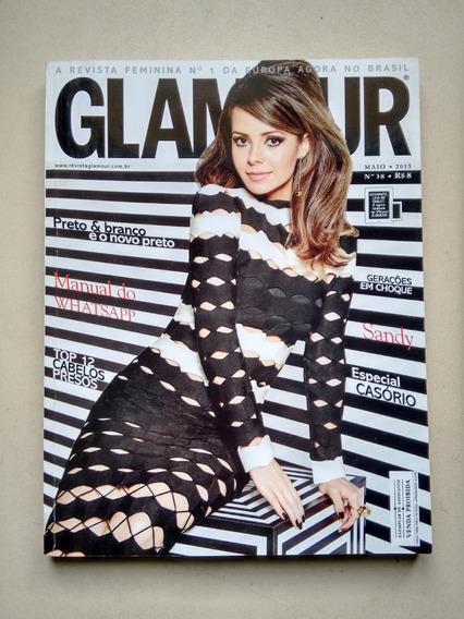 Revista Glamour 38 Sandy Moda Beleza Penteados C682