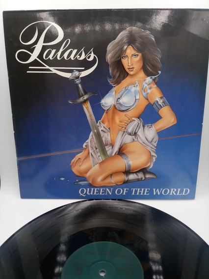 Lp Palass Queen Of The World Ñ Glacier Medieval Steel
