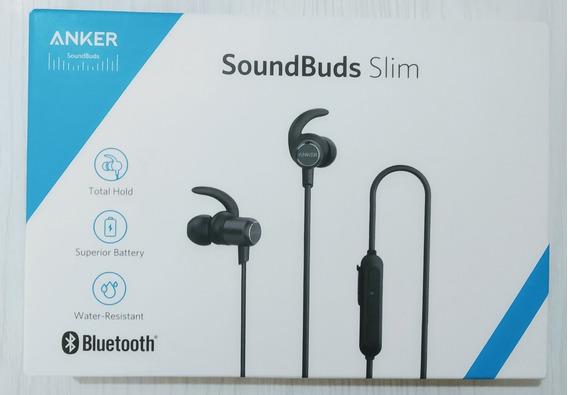 Fone Bluetooth 5.0 Anker Soundbuds Slim (modelo Novo)