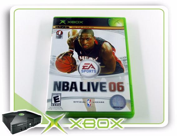 Xbox Nba Live 06 Original Xbox Clássico Ntsc