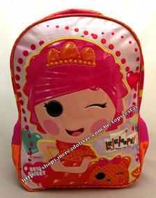 Mochila Grande Costas Lalaloopsy Candy Pop Original Xeryus