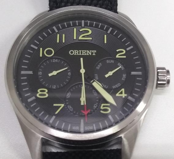 Relógio Orient Masculino Multi Mbsnm002 Verde Oferta