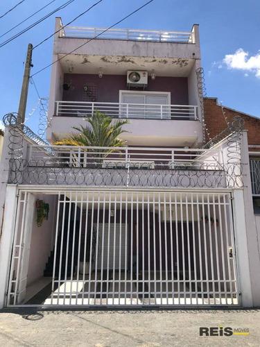 Imagem 1 de 15 de Casa Com 3 Dormitórios À Venda, 247 M² Por R$ 610.000,00 - Vila Santa Rita - Sorocaba/sp - Ca1823