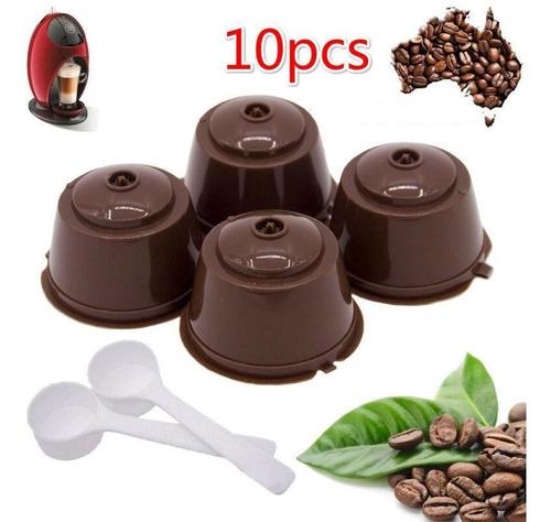 Imagen 1 de 6 de 10 Unidades Para Nescafe Dolce Gusto Cápsula De Café Filtro