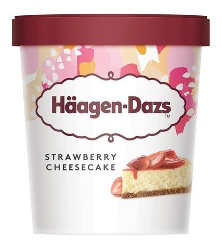 Imagen 1 de 5 de Strawberry Cheesecake Häagen-dazs X 473ml