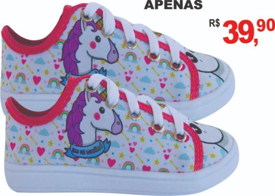 Coisas De Unicornio Comprar Sapato Tênis Menina L13 !