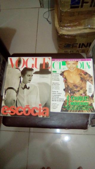 Revista Marie Claire,vogue E Claudia Anos 90 - 04 Und