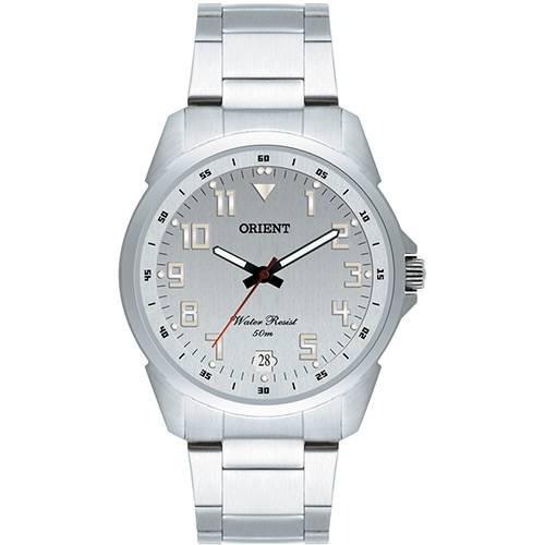 Relógio Masculino Prata Orient Mbss1154a S2sx