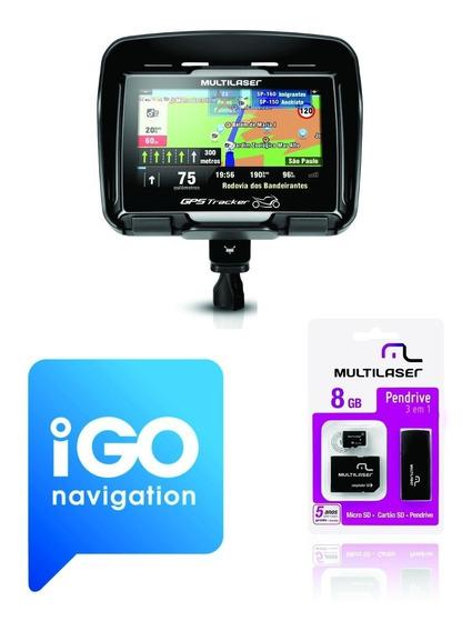Atualização 2019 Gps Moto Tracker Gp040 - Gp033 - Gp022 -igo