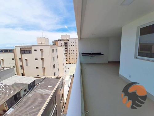 Apartamento Com 3 Dormitórios À Venda, 97 M² Por R$ 520.000,00 - Praia Do Morro - Guarapari/es - Ap3756