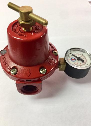Regulador Para Gas R3a-m Con Manómetro Rosca De 1/2 Congrif