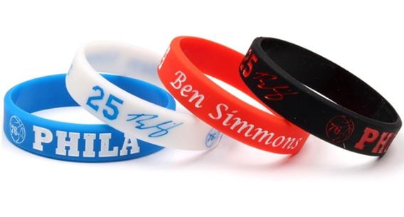 Pulseira Nba Ben Simmons Philadelphia 76ers Basquete Embiid