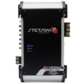 Modulo Amplificador Stetsom Export Line Ex1200w Rms Eq 2ohms