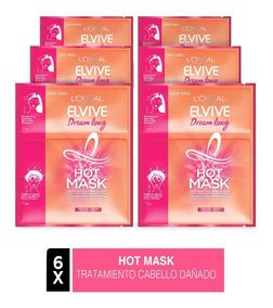 Pack 6x Hot Mask Elvive Dream Long L