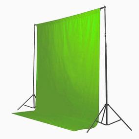 Tecido 3x2 Verde Estudio Fundo Infinito Chroma Key Youtubers