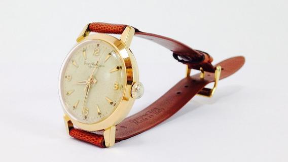 Reloj Original Girard Perregaux Con Baño De Oro (ref 547)