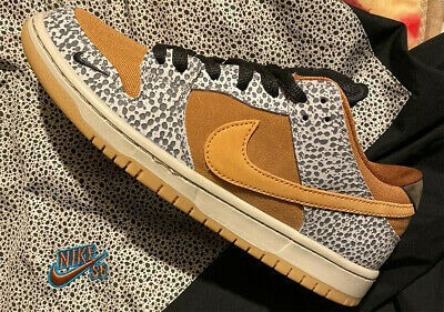 Nike Sb Dunk Low Safari 9.5us