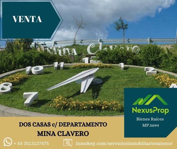 Casa + Departamento- Inversión En Zona Turística- Precio Actualizado