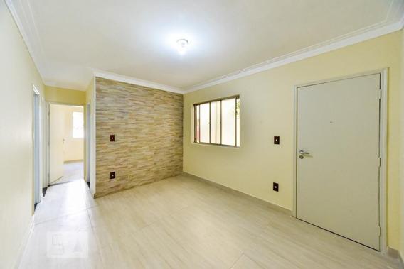 Apartamento Térreo Mobiliado Com 2 Dormitórios E 1 Garagem - Id: 892943523 - 243523