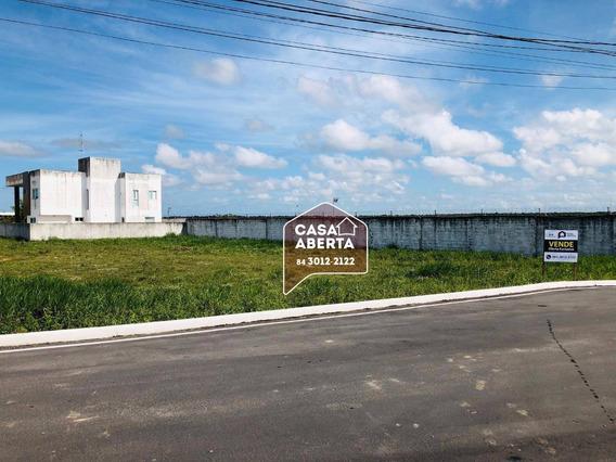 Terreno À Venda, 801 M² Por R$ 125.000,00 - Parque Das Nações - Parnamirim/rn - Te0001