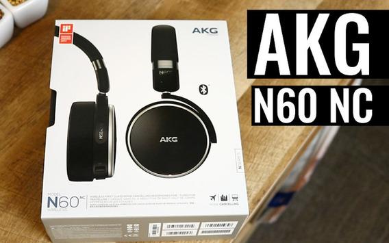 Fone De Ouvido(headphone) Akg N60 Nc (noise Canceling)