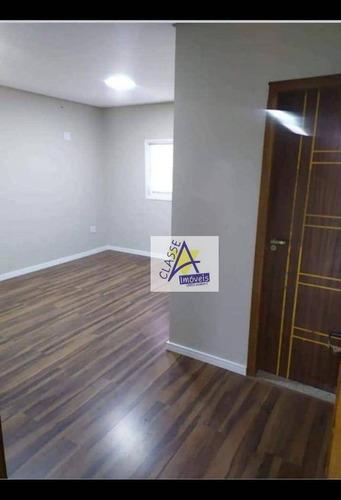 Imagem 1 de 5 de Sala Para Alugar, 18 M² Por R$ 1.100/mês - Vila Nossa Senhora Das Vitórias - Mauá/sp - Sa0038