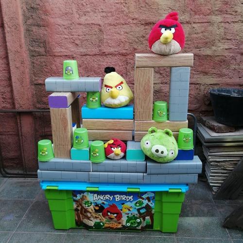 Imagen 1 de 5 de Arriendo Juego Super Angry Birds Cumpleaños Eventos