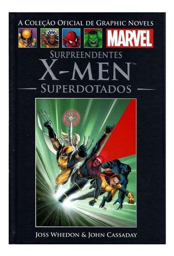 Livro Marvel Hq Ed.36 Surpreendentes X-men Superdotados