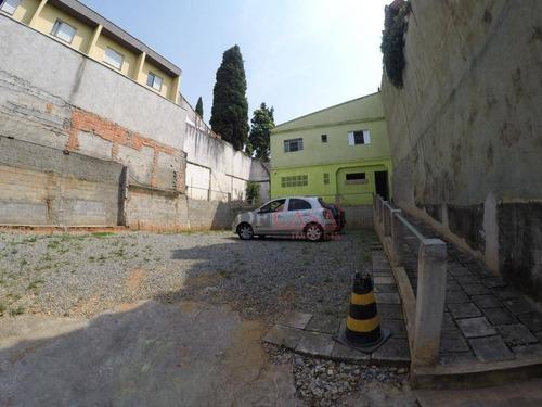 Imagem 1 de 6 de Terreno À Venda, 288 M² Por R$ 550.000,00 - Vila Carmosina - São Paulo/sp - Te0135