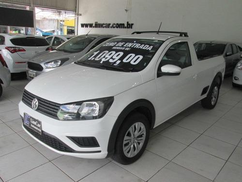 Volkswagen Saveiro 1.6 Trendline Flex Zero De Entrada