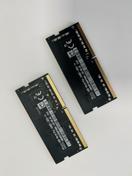 Memória Ram 8gb (2 De 4gb) Ddr4 2400mhz Sk Hynix