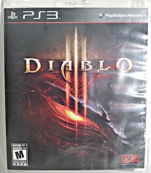 Diablo 3 - Ps3 - (fisica) - Usado